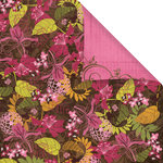 Prima - Melody Collection - 12 x 12 Double Sided Paper - Gathering Leaves