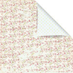 Prima - Sparkling Spring Collection - 12 x 12 Double Sided Paper - Rosebud