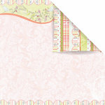 Prima - Sparkling Spring Collection - 12 x 12 Double Sided Paper - Spun Sugar