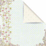 Prima - Sparkling Spring Collection - 12 x 12 Double Sided Paper - Day Break