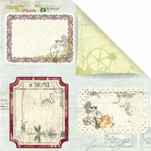 Prima - Botanical Collection - 12 x 12 Double Sided Paper - Walk in the Park