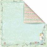 Prima - Celebrate Jack and Jill Collection - 12 x 12 Double Sided Paper - Happy Birthday Jack