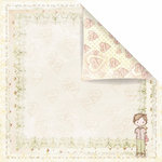 Prima - Celebrate Jack and Jill Collection - 12 x 12 Double Sided Paper - Secret Admirer
