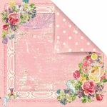 Prima - Sweet Fairy Collection - 12 x 12 Double Sided Paper - Enchanted
