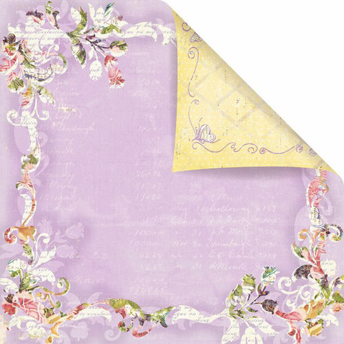 Prima - Sweet Fairy Collection - 12 x 12 Double Sided Paper - Charmed