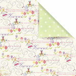 Prima - Sweet Fairy Collection - 12 x 12 Double Sided Paper - Precious