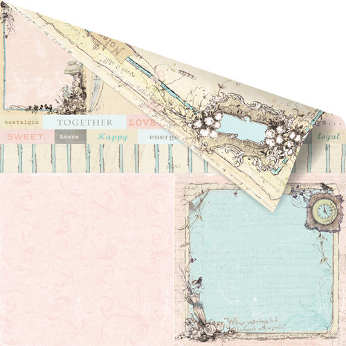 Prima - Pixie Glen Collection - 12 x 12 Double Sided Paper - Devon
