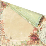 Prima - Romantique Collection - 12 x 12 Double Sided Paper - Hilary