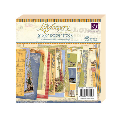 Prima - Londonerry Collection - 6 x 6 Paper Pad
