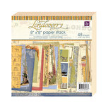 Prima - Londonerry Collection - 8 x 8 Paper Pad