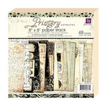 Prima - Printery Collection - 8 x 8 Paper Pad