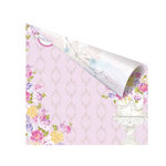 Prima - Meadow Lark Collection - 12 x 12 Double Sided Paper - Floralee