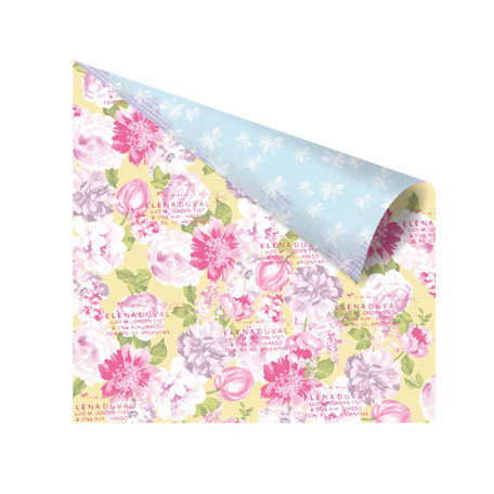 Prima - Meadow Lark Collection - 12 x 12 Double Sided Paper - Grace