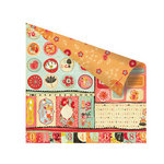 Prima - Doodle-Deux Collection - 12 x 12 Double Sided Paper - Doodle-Bits
