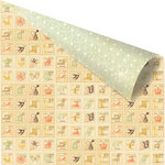Prima - Songbird Collection - 12 x 12 Double Sided Paper - Mosaic