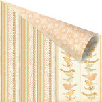 Prima - Songbird Collection - 12 x 12 Double Sided Paper - Lineage