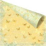 Prima - Sun Kiss Collection - 12 x 12 Double Sided Paper - Bliss