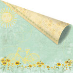 Prima - Sun Kiss Collection - 12 x 12 Double Sided Paper - Shady Nook
