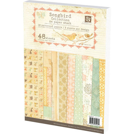 Prima - Songbird Collection - A4 Paper Pad