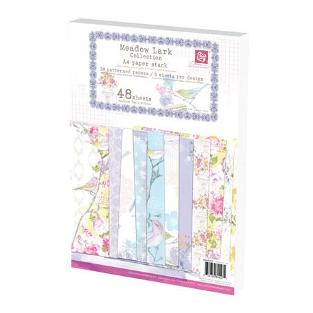 Prima - Meadow Lark Collection - A4 Paper Pad