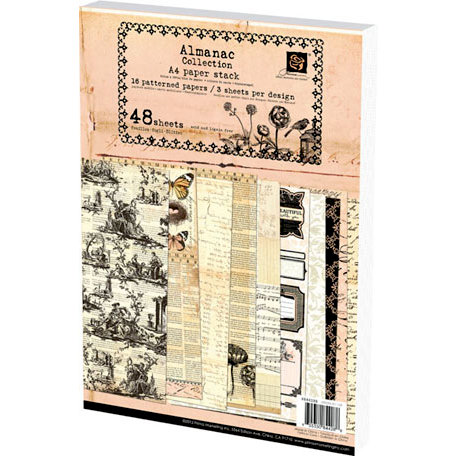 Prima - Almanac Collection - A4 Paper Pad