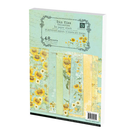 Prima - Sun Kiss Collection - A4 Paper Pad