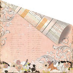 Prima - Rondelle Collection - 12 x 12 Double Sided Paper - Pavanne