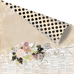 Prima - Rondelle Collection - 12 x 12 Double Sided Paper - Sovienne