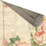 Prima - Tea-Thyme Collection - 12 x 12 Double Sided Paper - Charmante