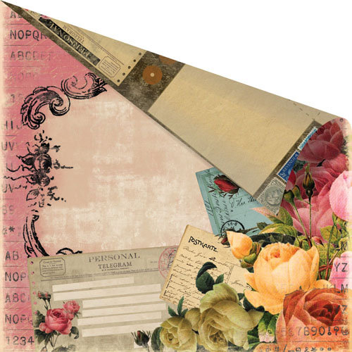 Prima - Romance Novel Collection - 12 x 12 Double Sided Paper - Time Travel