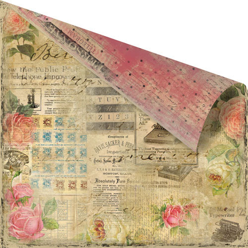 Prima - Romance Novel Collection - 12 x 12 Double Sided Paper - Emotion