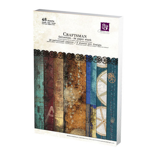 Prima - Craftsman Collection - A4 Paper Pad