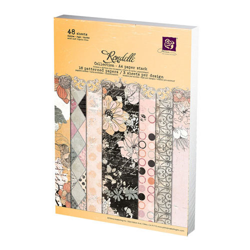 Prima - Rondelle Collection - A4 Paper Pad