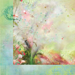 Prima - Firefly Collection - 12 x 12 Double Sided Paper - Fireflies