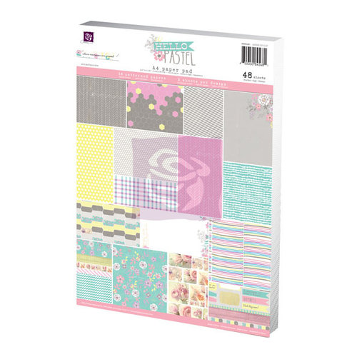 Prima - Hello Pastel Collection - A4 Paper Pad