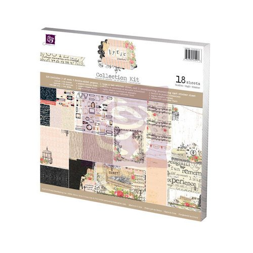 Prima - Lyric Collection - 12 x 12 Collection Kit