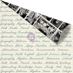 Prima - School Memories Collection - 12 x 12 Double Sided Paper - Classroom Climate