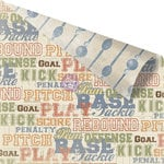 Prima - Allstar Collection - 12 x 12 Double Sided Paper - D Fence