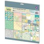 Prima - Free Spirit Collection - 12 x 12 Collection Kit