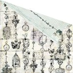 Prima - Epiphany Collection - 12 x 12 Double Sided Paper - At This Moment