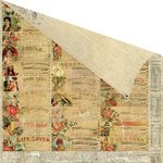 Prima - Cigar Box Secrets Collection - 12 x 12 Double Sided Paper - Presidente