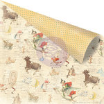 Prima - Bedtime Story Collection - 12 x 12 Double Sided Paper - Bedtime Story