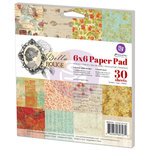 Prima - Bella Rouge Collection - 6 x 6 Paper Pad