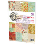 Prima - Bella Rouge Collection - A4 Paper Pad