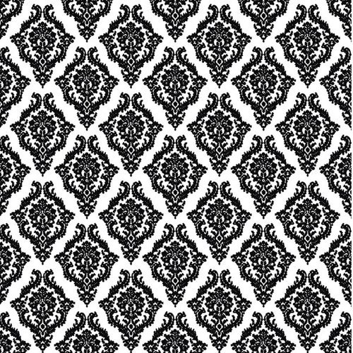 Prima - Christina Renee Collection - 12 x 12 Flocked Transparency Sheet - Meredith, CLEARANCE