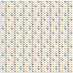 Prima - Signs Of Spring Collection - 12 x 12 Glittered Transparency Sheet - Flight, CLEARANCE