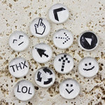 Prima - Pebbles Collection - Self Adhesive Pebbles - Click Here, BRAND NEW
