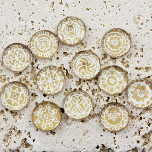 Prima - Pebbles Collection - Self Adhesive Pebbles - Sandy Mumbai, BRAND NEW