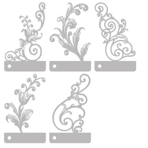 Prima - Stencils Mask Set - 3 x 5 - Mix 1