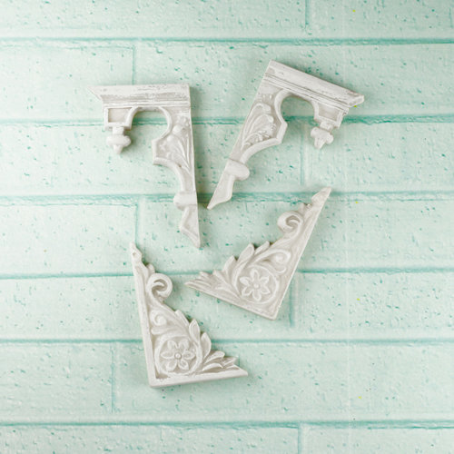 Prima - Architecture Collection - Resin Embellishments - Gable